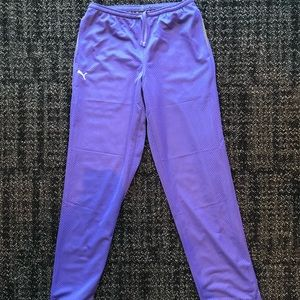 Puma Athletic Reversible Purple/Tan Sweatpants XS